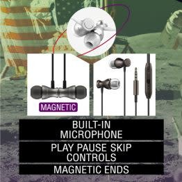CaseMetro SpaceBuds Magnetic EarBuds