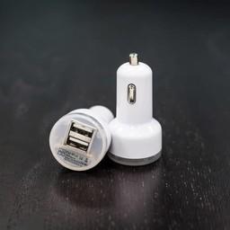 CaseMetro White USB Dual Car Charger