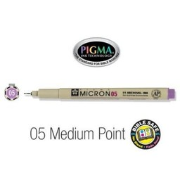 Pigma Micron 05 Medium Bible Pen Violet