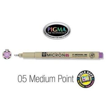 Pigma Micron 05 Medium Bible Pen Violet