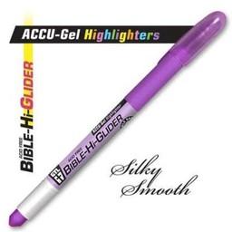 Accu-Gel Bible-Hi-Glider Violet