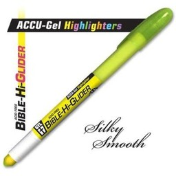 Accu-Gel Bible-Hi-Glider Yellow