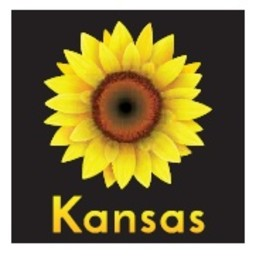Kansas Sunflower Magnet