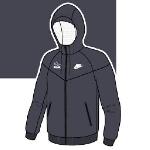 Nike Windrunner Jacket - Anthracite Gray - ba8edc01c