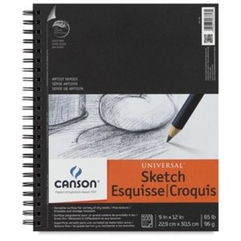 """Canson Universal Sketch Pad, 12"""" x 9"""""""