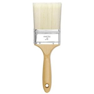 Brush, Linzer Bristle/Polyester Gesso 3""