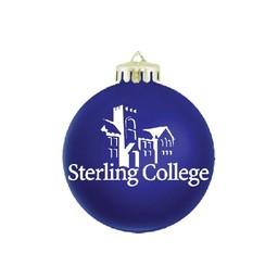 SC Christmas Ornament, Blue Acrylic