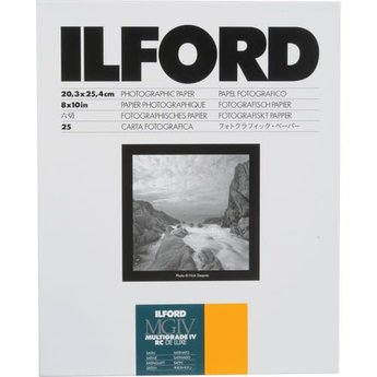 Ilford Multigrade IV RC DeLuxe Paper, 25 Sheets