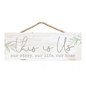 Slat Hanging Sign-This Is Us