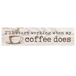 Little Sign-I Start Working When