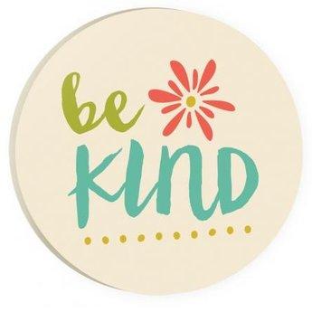 Car Coaster-Be Kind