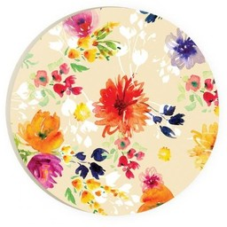 Car Coaster-Flowers