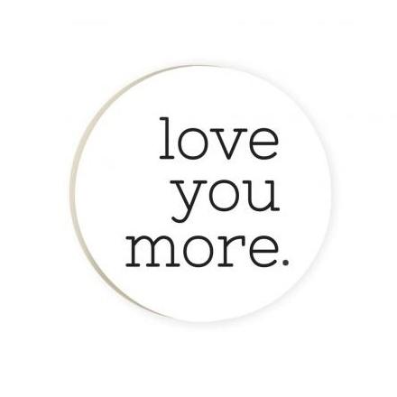 Car Coaster-Love You More