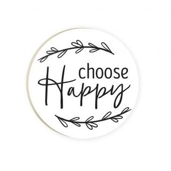 Car Coaster-Choose Happy