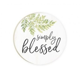 Car Coaster-Simply Blessed