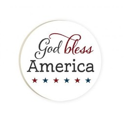 Car Coaster-God Bless America