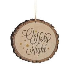 Barky Ornament-O Holy Night (Illustrated)