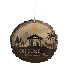 Barky Ornament-Oh Come (Illustrated)