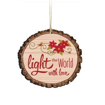 Barky Ornament-Light the World With Love
