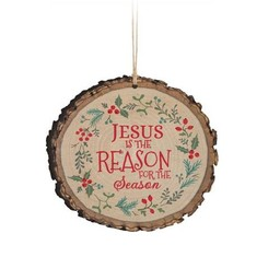 Barky Ornament-Jesus is the Reason