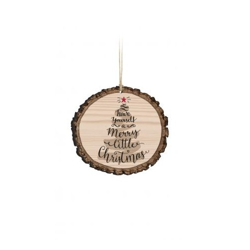 Barky Ornament-Have Yourself a Merry