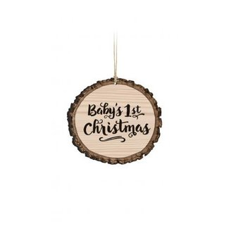 Barky Ornament-Baby's 1st Christmas