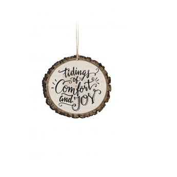 Barky Ornament-Tidings of Comfort & Joy