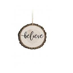 Barky Ornament-Believe