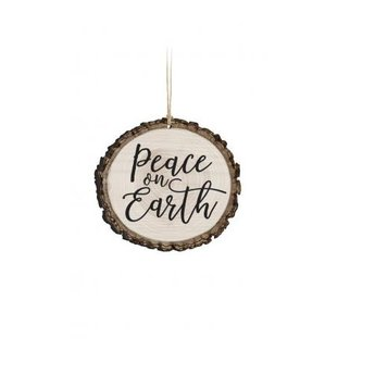 Barky Ornament-Peace on Earth