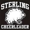 Cut Letter Cal, Cheerleader, 5 in x 5 in
