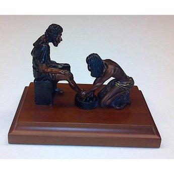 Divine Servant Sculpture, 5 in x 7 in x 5 in