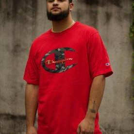 "CHAMPION HERTIAGE TEE ""RED CAMO"""