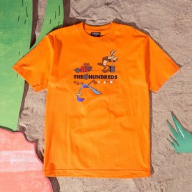 THE HUNDREDS ACME TNT TEE - ORNG