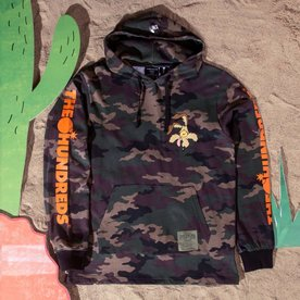 THE HUNDREDS FAILED HOODED LS - CAMO