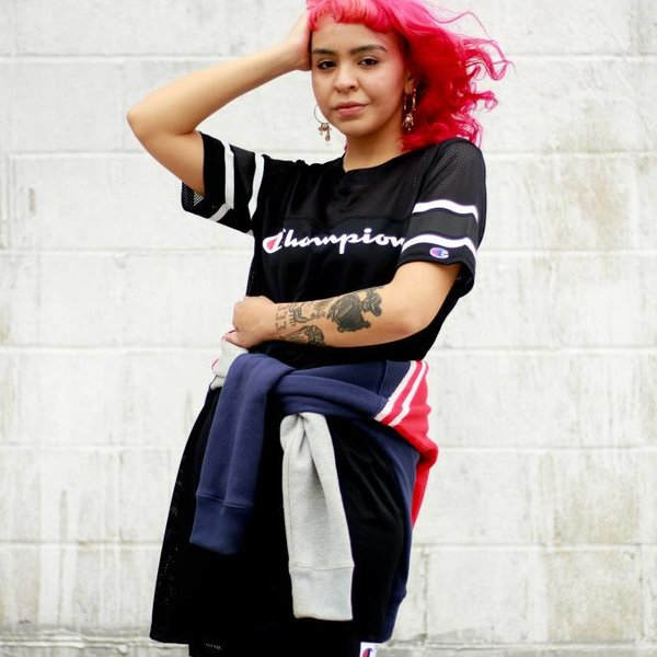 CHAMPION W RW DRESS - BLK
