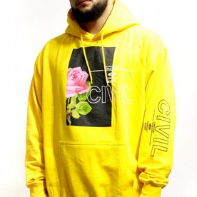 CIVIL REGIME BLOOM BOX HOODIE - GOLD