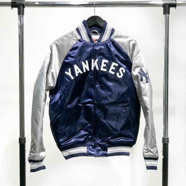 MITCHELL & NESS M&N SATIN JACKET - YANKEES