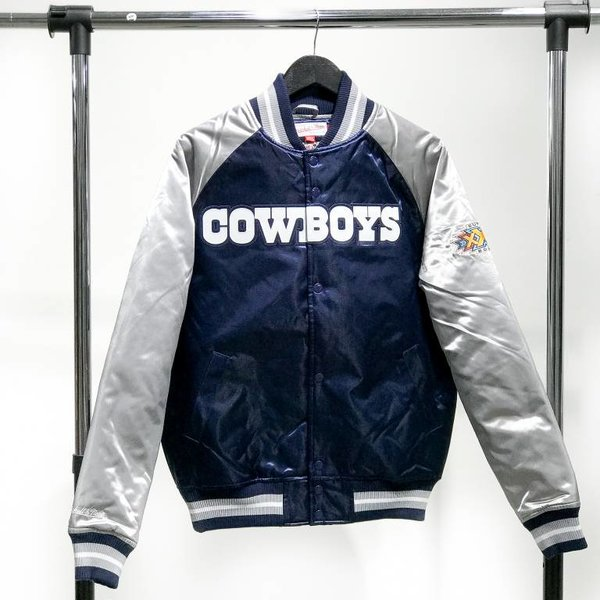 MITCHELL & NESS M&N SATIN JACKET - COWBOYS