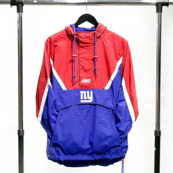 MITCHELL & NESS M&N HALF ZIP ANORAK - GIANTS