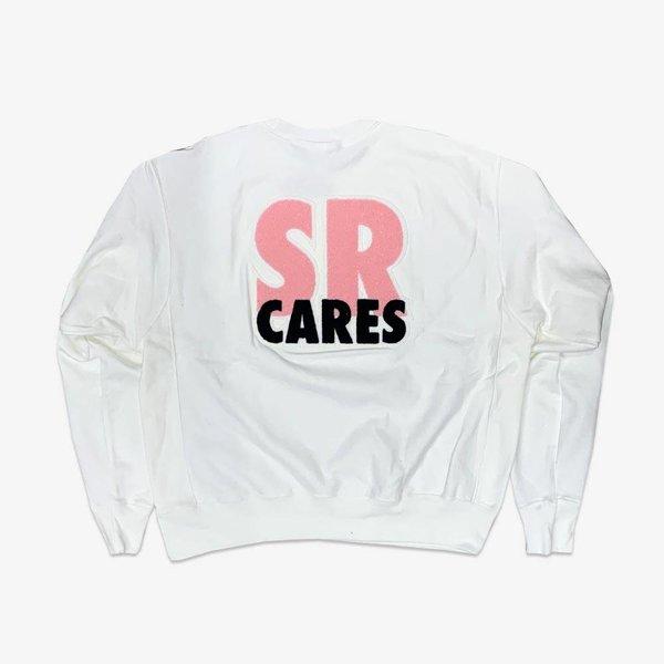 CHAMPION #SRCARES x Champion Crewneck - White