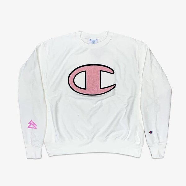 CHAMPION #SRCARES x Champion Crewneck - White