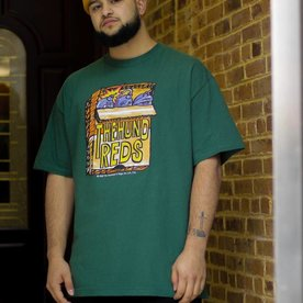 THE HUNDREDS STASHBOX TEE - FOREST
