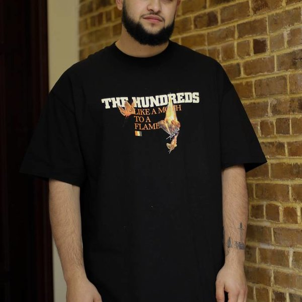 THE HUNDREDS RATHER TEE - BLK
