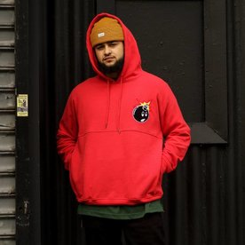 THE HUNDREDS STALKER PULLOVER - RED