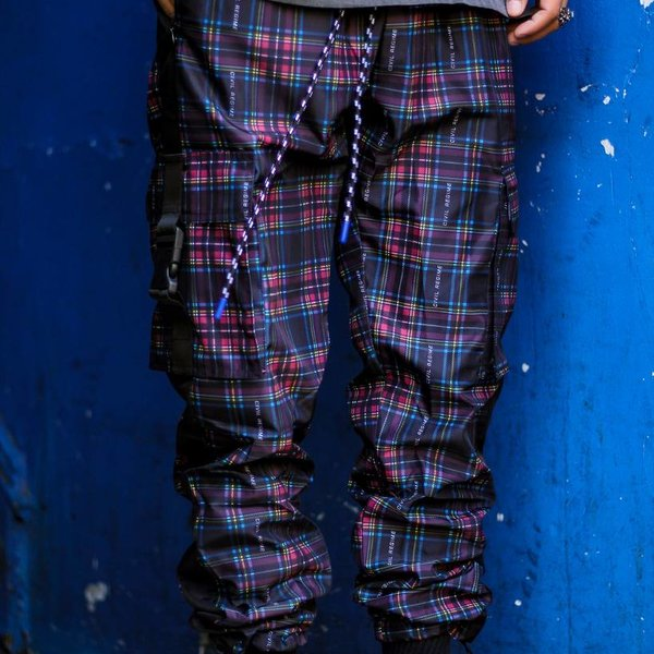 CIVIL REGIME ALTITUDE PANT - PLAID