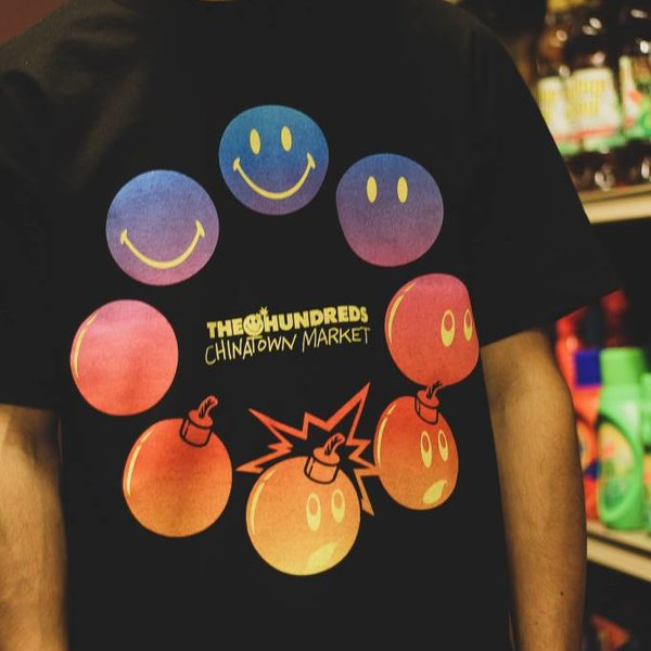 THE HUNDREDS CYCLE ADAM TEE - BLK