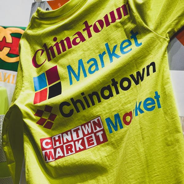 CHINATOWN MARKET NASCAR LS TEE