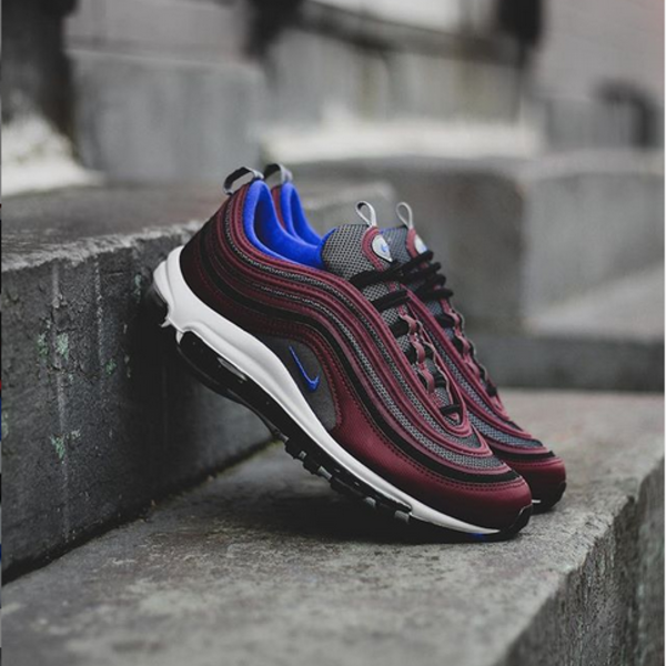 "NIKE AIR MAX 97 ""MAROON/BLUE"""