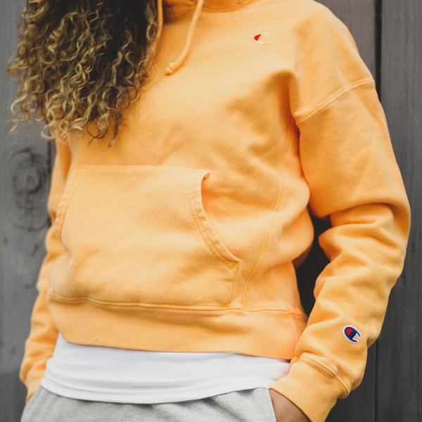 CHAMPION W SCRIPT P/O - ORANGE