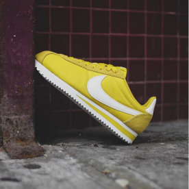 "NIKE W CORTEZ NYLON ""YELLLOW"""